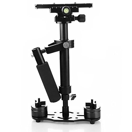 2.FOTOWELT Handheld Camera Stabilizer for Nikon Canon Sony Panasonic DV DSLR