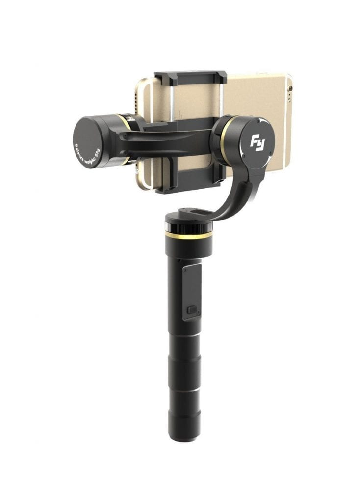 3.Feiyu Tech 3-Axis Handheld Gimbal for Smartphones