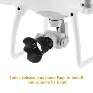 4.Powerextra Protective Durable Plastic Camera Lens Cap Cover