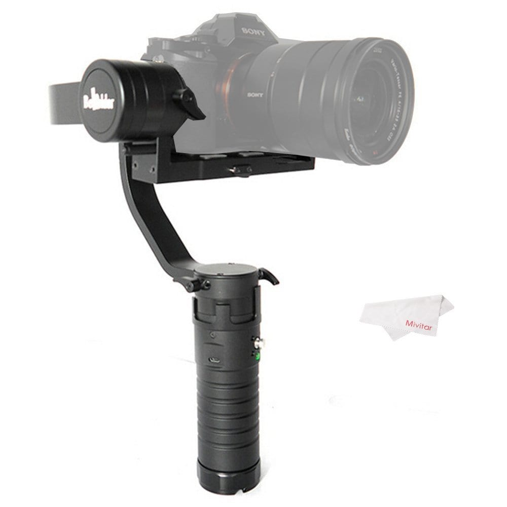 5.Beholder DS1 Handheld Stabilizer 3-Axis Brushless Gimbal for DSLR Camera