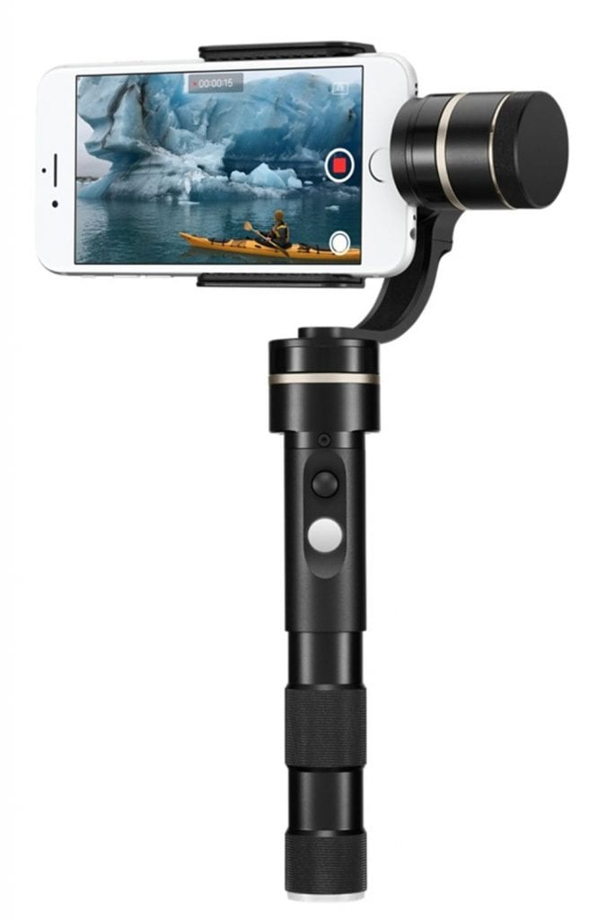 7.Feiyu Tech G4 Pro 3-Axis Handheld Stabilized Gimbal
