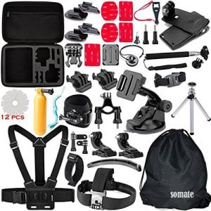 7.omate 50-in-1 Outdoor Accessory Kit for Gopro