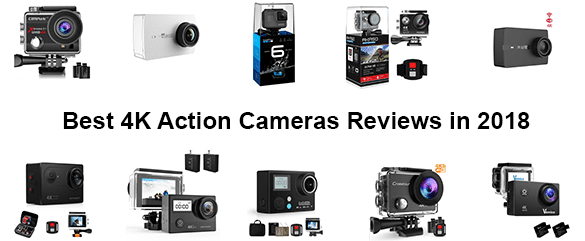 top 10 best 4k action cameras reviews in 2018. Black Bedroom Furniture Sets. Home Design Ideas