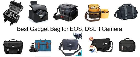 Top 10 Best Gadget Bag for EOS, DSLR Camera Reviews in 2018
