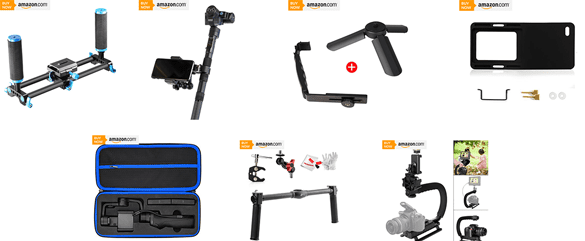 Top 7 Best Gimbal Accessories Reviews 2018
