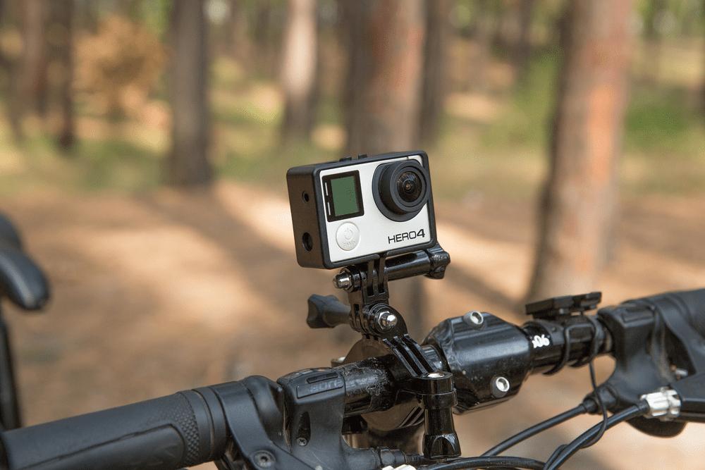 Bracket Adjustable GO PRO Hero HD Camera Cycle Handlebar Mount Clamp